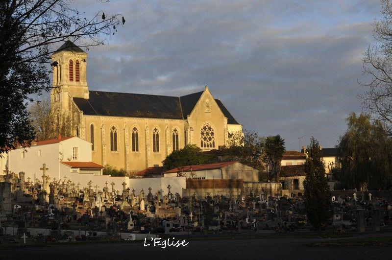L'église - Champ Saint Père